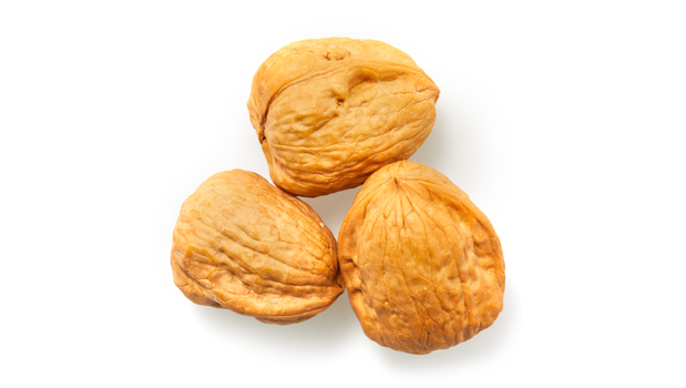 Walnuts in shell.