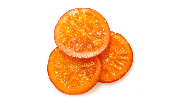 Orange sliced, glucose-fructose, sugar, acid citric, potassium sorbate.