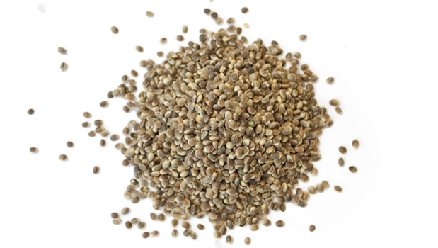 Sterilized hemp seed, sea salt.