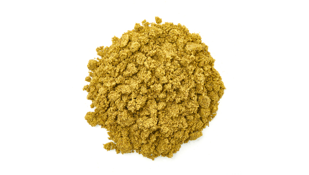 Hemp powder.