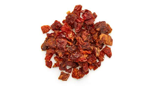Organic sun dried tomatoes, salt.