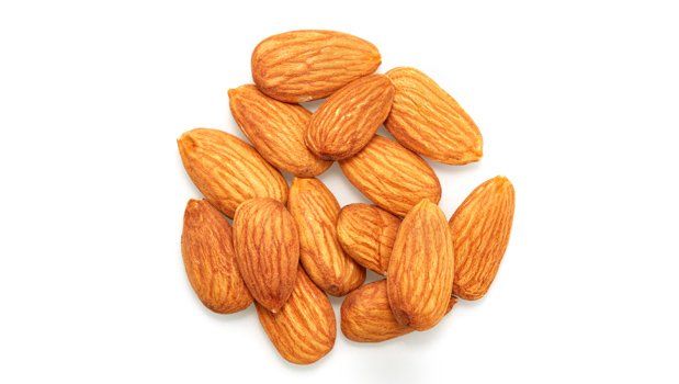 Organic almonds.