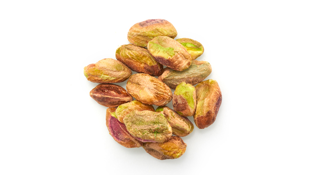 Organic pistachios.