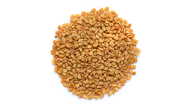 Organic fenugreek seeds.