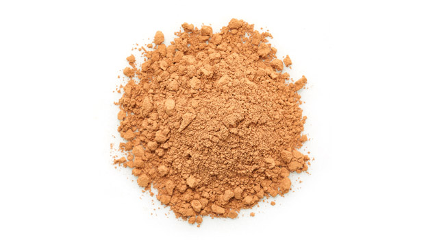 Organic raw natural cocoa powder.