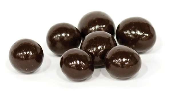 Dark chocolate (cane sugar, cocoa mass [processed with alkali], cocoa butter, butter oil, sunflower lecithin, vanilla), malt centers (corn syrup, confectionery coating [sugar, hydrogenated palm kernel oil, cocoa powder, whey powder(milk), nonfat milk powder, soy lecithin [an emulsifier], vanilla], sugar, dairy blend [whey(milk), whey protein concentrate(milk)], malt powder [malted barley, wheat, milk, hydrolyzed wheat gluten, sodium bicarbonate, salt], natural and artificial flavor), cane sugar, tapioca syrup, tapioca dextrin, confectioner's glaze
